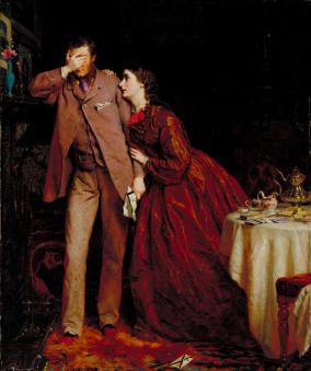 Woman's Mission: Companion of Manhood 1863 by George Elgar Hicks 1824-1914